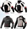 KOMINE JK015 ropa resistencia a la caída ropa de la motocicleta chaqueta de verano de malla de Titanio