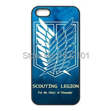 Attack On Titan Wings Of Liberty Flag Cover Case for iPhone & Samsung Galaxy