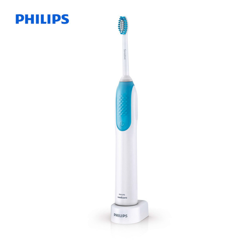 PHILIPS HX3120 / 01 Hot Sell Electric Rechargeable Acoustic Vibrate Toothbrush Oral Hygiene Blue Portable Tooth Brush 110-220V newview 4pcs replacement electric toothbrush heads for philips sonicare electric tooth brush hygiene care clean p hx 6014