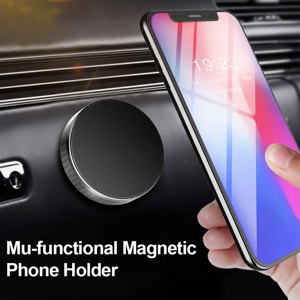 Magnetic Car Dashboard Steering Wheel Flat Holder For Xiaomi Phone Magnet Ac Pocophone F1 Gps Mount Wall Stand Iphone Samsung