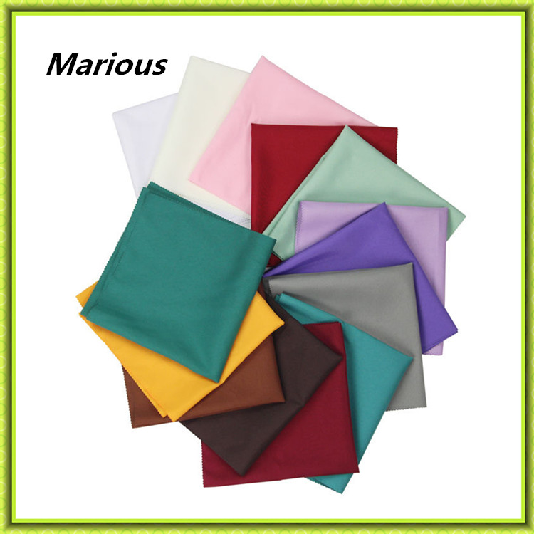 Marious Brand Colorful wedding table napkins cloth polyester napkins cloth cheap free shipping