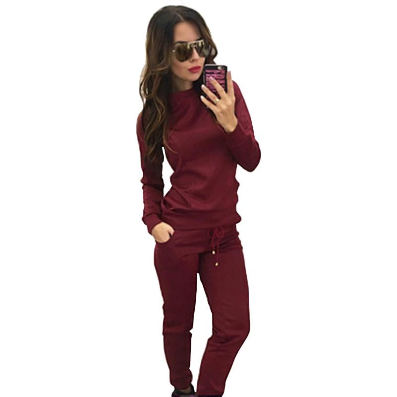 2 Color 4 Size Fashion Women's Tracksuit Fitness Clothing Women Suit Two Piece Set Striped Crop Hoodies Pant Suit Sportswear