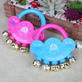 Baby Kids Hand Shaking Bells Musical Rattle Handbell Educational Toys Creative