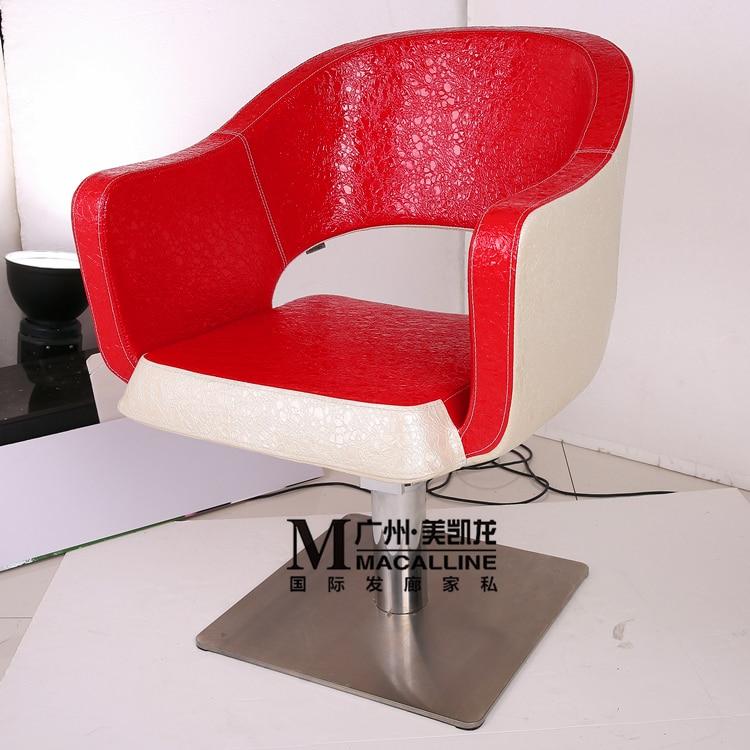 . Die Haarschnitt Sessel .. Gehobenen Friseur Stuhl. Neue Sessellift Rheuma Lindern