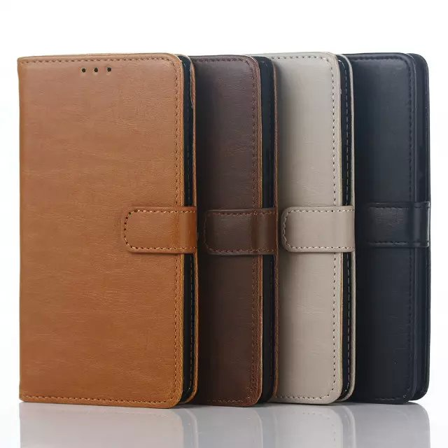For Motorola Moto X Play Genuine Leather Case Luxury Flip Leather Wallet Case Holder Cover for Moto X Play XT1561 XT1562 Caso