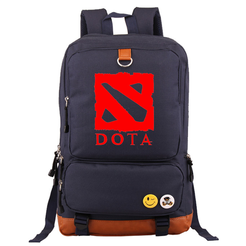 High Quality 2017 New Game Dota 2 Printing Leisure Laptop Men Fashion Backpack School Bags for Teenagers Mochila Escolar bagpack
