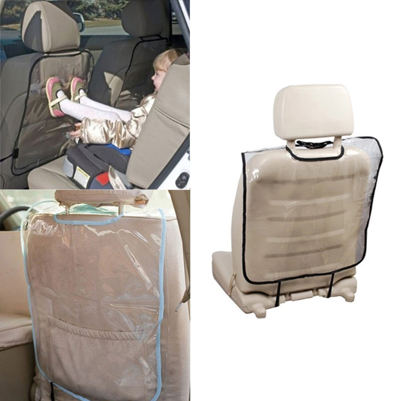 Car Auto Seat Back Protector Cover Backseat for Children Babies Kick Mat Protects from Mud Dirt XR657