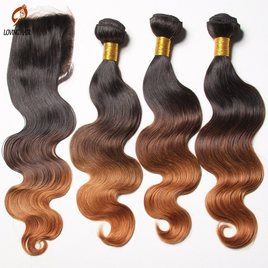 Hair-with-closure-brazilian-Body-wave-ombre-brazillian-virgin-hair-weave-with-lace-closure-free-part (4)
