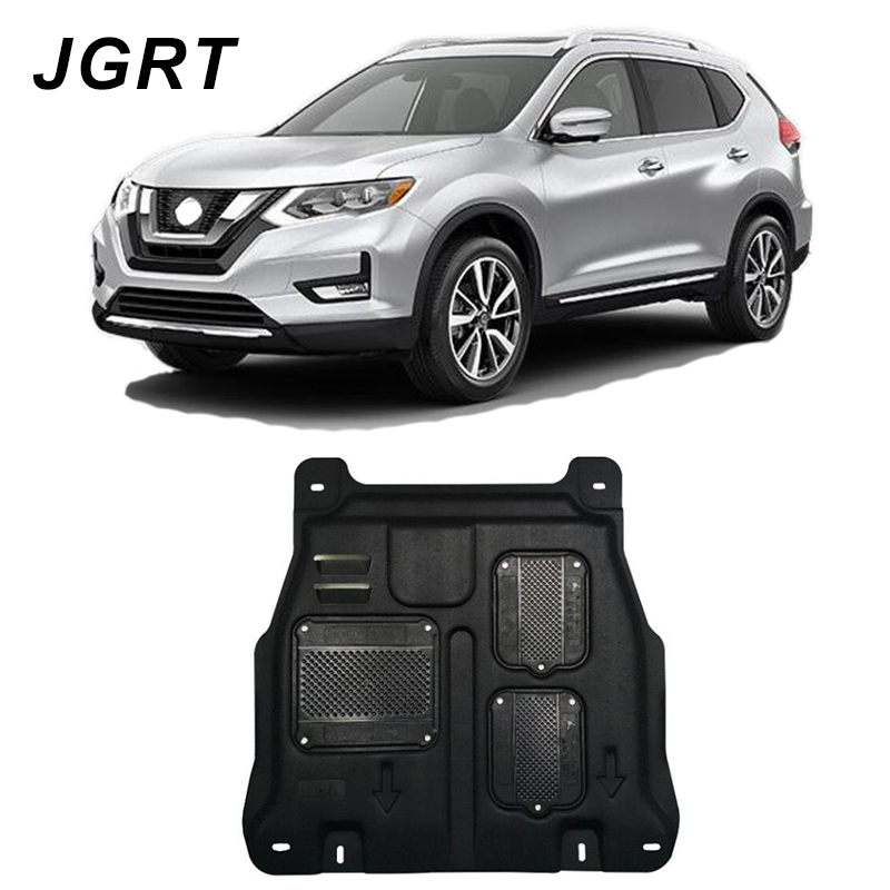 Car styling For Nissan Rogue plastic steel engine guard For Rogue 2014-2018 Engine skid plate fender 1pcCar styling For Nissan Rogue plastic steel engine guard For Rogue 2014-2018 Engine skid plate fender 1pc