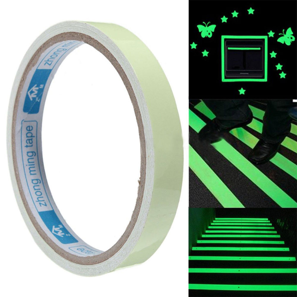 Luminous Tape Glow In The Dark 3M Safety Stage Home Decorations Self adhesive