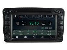 NAVIRIDER Eight Core 4GB RAM Android 6.0.1 car multimedia player for BENZ W209 M W163 W639 car dvd gps BT radio stereo USB