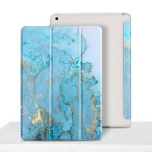 Marble Case for iPad iPad 9.7 2018 2017 Magentic Cover TPU Back Protective Shell for iPad 234 Air 2 1 Mini Pro 10.5 Funda Capa for ipad air 2 case kids cartoon 3d protective cover for ipad air funda for ipad 2017 2018 cover capa for ipad pro 9 7 case