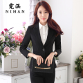 Han Ni ladies wear overalls suit suit dress Slim occupation interview suit tooling Ms. fall and winter