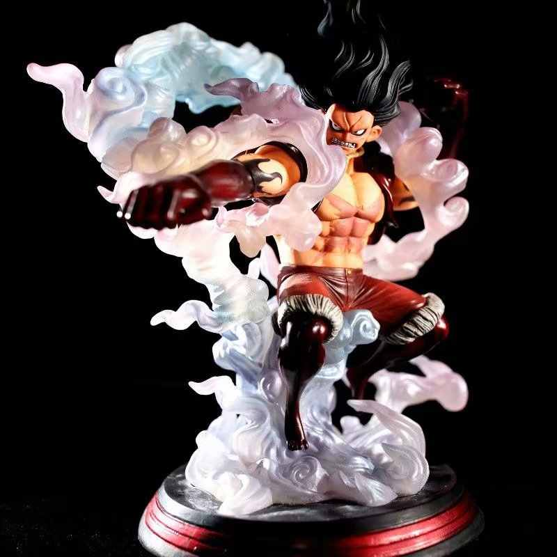 Anime One Piece Mh Snake Man Gear Fourth Monkey D Luffy Dx Figure Model Toys