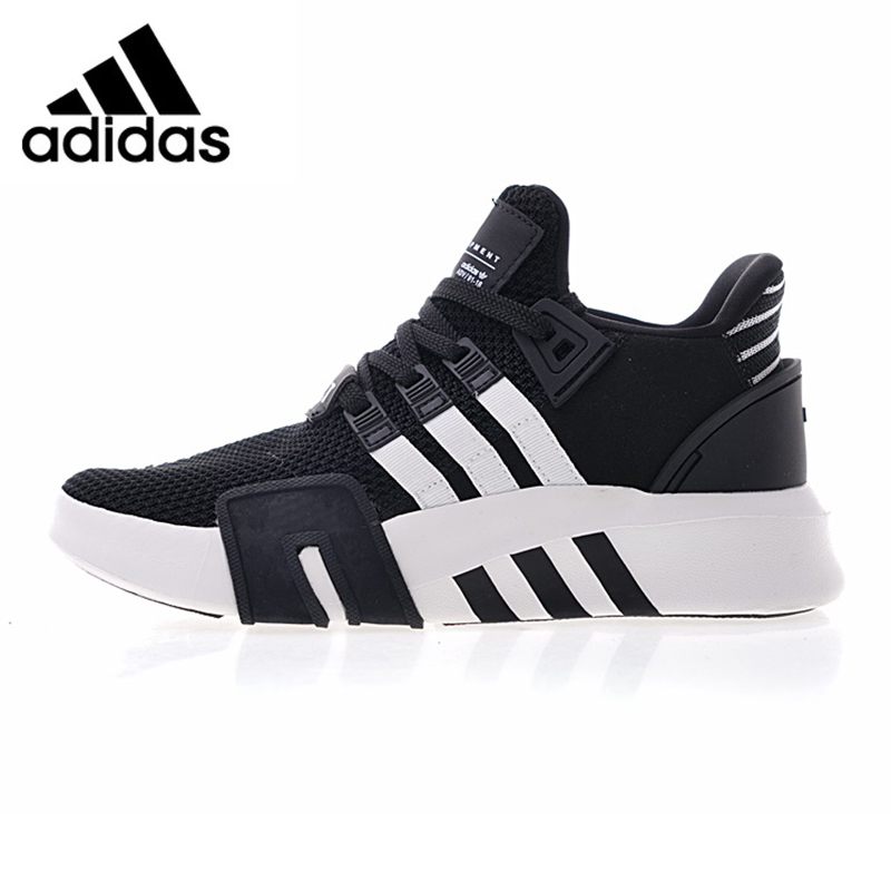 Adidas EQT Basketball ADV Men Running Shoes, White & Black/Black & Blue Breathable Shock-absorbing Non-slip DA9538 CQ2994 nk 3 pcs set original fr doll head for fr dolls 2002 limited edition collection curly hair best diy gift for girls doll