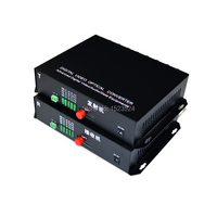 1 Pair 2 Pieces/lot 16 Channel Video Optical Converter 16V1D Fiber Optic Video Optical Transmitter & Receiver 16CH +RS485 Data