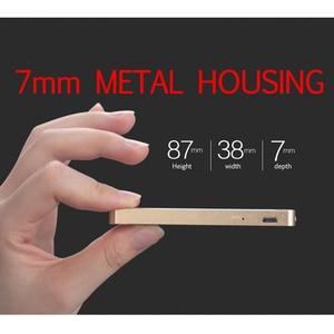 Image 2 - Ruizu X05 8GB 16GB ultra cienki dotykowy przenośny bezstratny sportowy cyfrowy ekran Hifi Audio Mp 3 Mini muzyka odtwarzacz Mp3 Radio FM