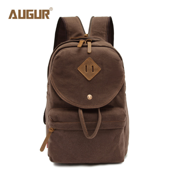 AUGUR MEN's Vintage Canvas Backpack Women Shoulder Bag High Quality School Bags For Teenagers Laptop Backpack new gravity falls backpack casual backpacks teenagers school bag men women s student school bags travel shoulder bag laptop bags