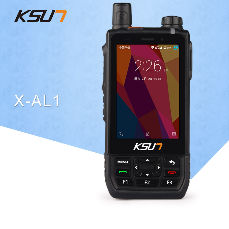 KSUN X-AL1 Mobile Phone National Open Range Civil 50 Outdoor 4G Visualization Intercom Positioning Handheld Device
