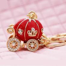 Red Diamond Pumpkin Car USB Flash Drive U Disk Genuine Capacity 8GB 16GB 32GB 64GB Gift Jewelry Pen Drive Pendrive Menmory Stick