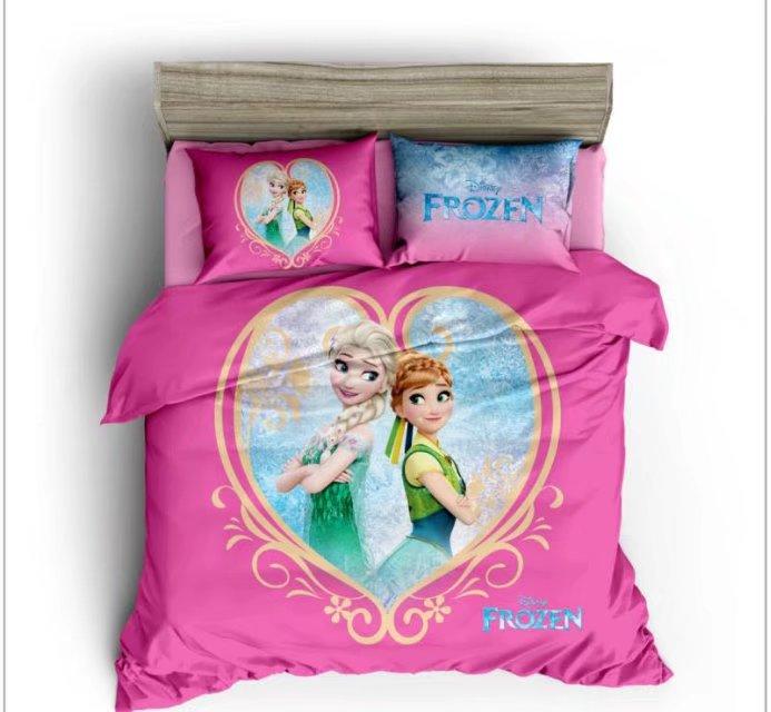 Cheap Bedroom Sets Kids Elsa From Frozen For Girls Toddler: Frozen Elsa And Anna 3D Printed Comforters Bedding Sets