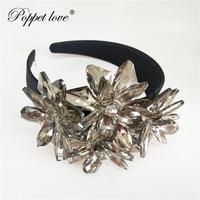 Top Quality Royal Sparkling Zircon Brides Tiaras Crown Silver Crystal Flower Bridal Hairbands Headpiece Wedding Hair Accessories