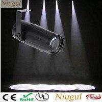 Niugul Super Bright Total 5W LED White Beam Pinspot Light Spotlight LED Lamp Mirror Balls DJ