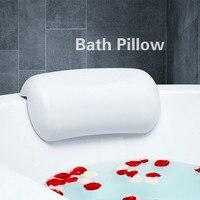 Bathroom Accessories Bath Pillow for tub Non slip Bathtub Headrest bath stuff Waterproof Suction Cup home spa Easy Clean pillow