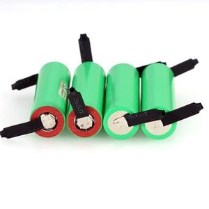 Image 4 - 6PCS/LOT Liitokala New Original 18650 2500mAh battery INR1865025R 3.6V discharge 20A dedicated Power battery + DIY Nickel sheet