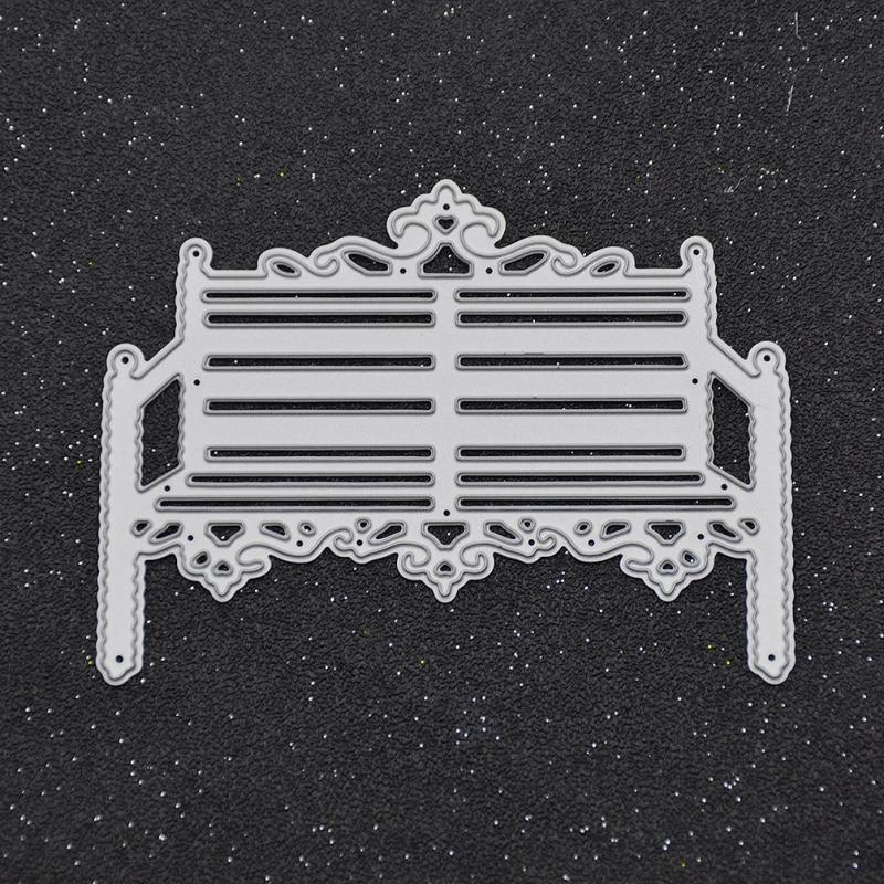 She Love Steel Chair Cutting Dies Metal Embossing Template Scrapbooking Photo Album Decorative Craft