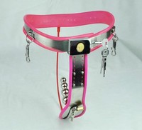 Stainless Steel arc style Female Chastity Belt with Vaginal Plug bdsm bondage sex games fetish wear Adult Sex Product for women
