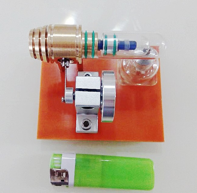 Micro Stirling engine model Mechanical model science toy Stryn engine eastcolight micro science mp 450 blue микроскоп