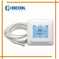 TST23B EP Full Touch Screen Digital Thermostat Temperature Controller For Warm Floor Auto Manual Electric Heating