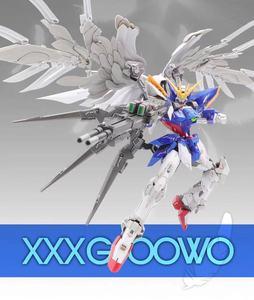 Image 2 - MX Gundam MG 1/100 aile fixe zéro combinaison Mobile assembler des maquettes figurines jouets pour enfants