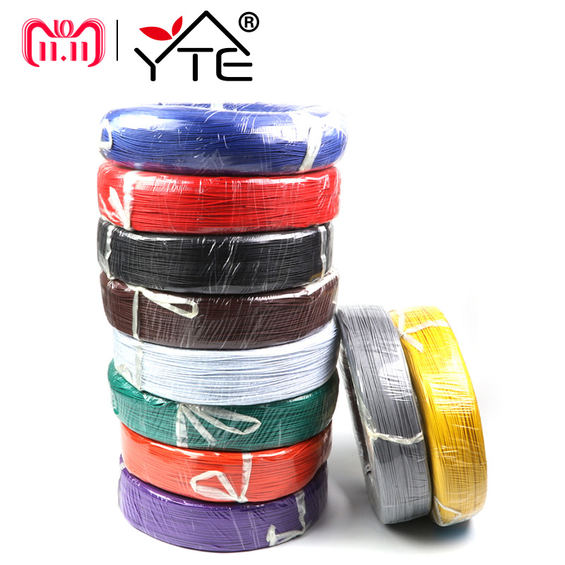 5 Meters UL1007 Wire 24awg 1.4mm PVC Electronic Cable UL Certification