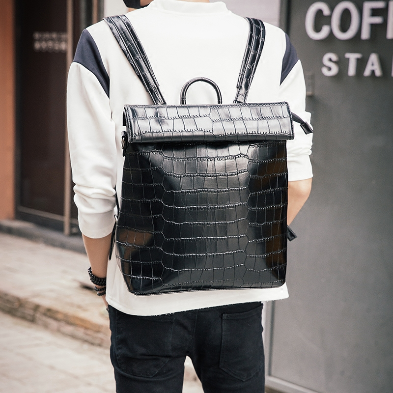 ФОТО Tidog Korean version of the new trend of men's computer backpack