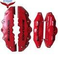 4 ШТ. Тормозной Суппорт Обложка Kit Автомобиля Стикер Размер M + S Стайлинга Автомобилей украшения Для AMG Mercedes-Benz Для Колеса 17 Дюйм(ов) И Под