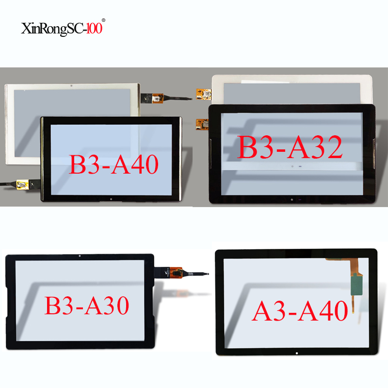For Acer Iconia One 10 B3-A40/B3-A20 A5008/B3-A30 A6003/B3-A32 A6202/Tab 10 A3-A40 Touch screen Panel Digitizer Glass with frame 10pcs lot 10 1 for acer iconia tab a510 a511 a700 a701 69 10i20 t02 v1 touch screen with digitizer panel front glass lens