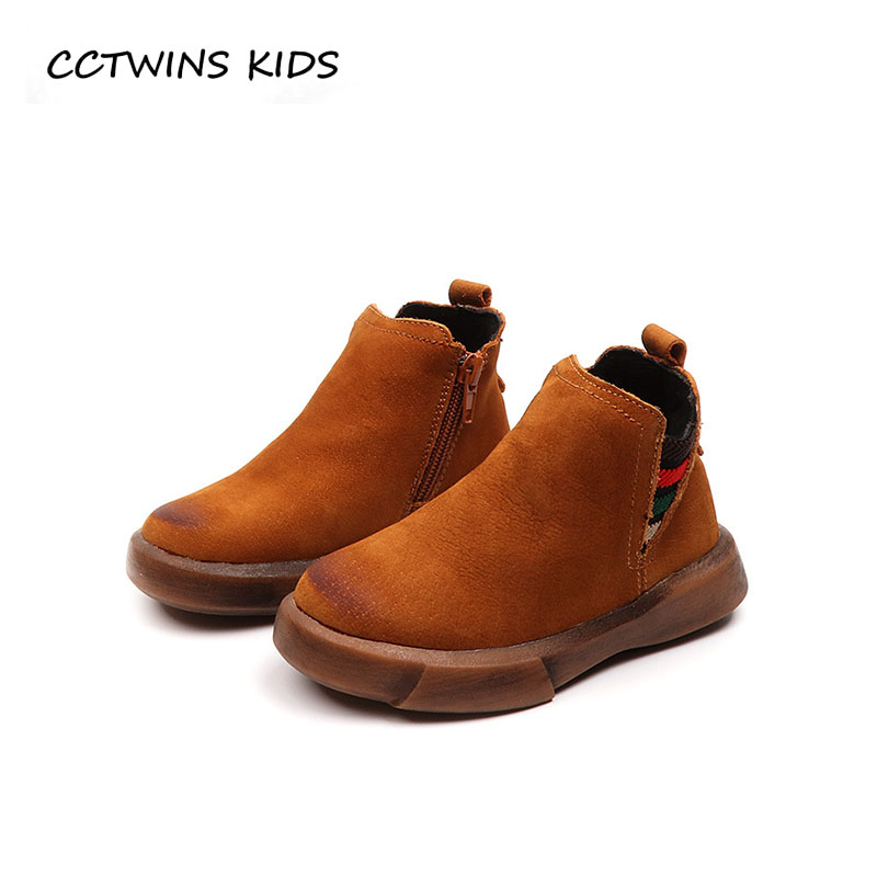 CCTWINS KIDS 2018 Autumn Children Genuine Leather Shoe Baby Boy Brand Black Boot Girl Fashion Ankle Boot Toddler CF1547 cctwins kids 2018 autumn baby boy fashion black boot children genuine leather shoe girl brand ankle boot toddler cf1505