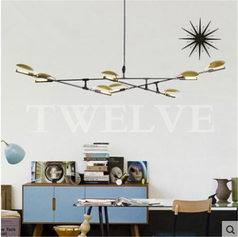 Creative Branch Arts Roll Hill Agnes Pendant Light Lamp Modern Italian Design Personality Living Room Restaurant