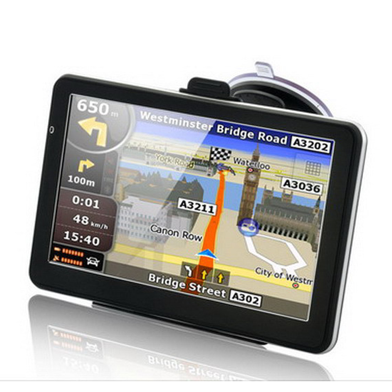 5 inch Capacitive Screen Car GPS Navigation Windows CE 6.0 WIFI AV IN 128Mb 4Gb Truck Vehicle Gps Navigator Free Maps Bluetooth 704 7 inch truck car gps navigation navigator with free maps win ce 6 0 touch screen e book video audio game player function