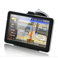 5 inch Capacitive Screen Car GPS Navigation Windows CE 6.0 WIFI AV IN 128Mb 4Gb Truck Vehicle Gps Navigator Free Maps Bluetooth