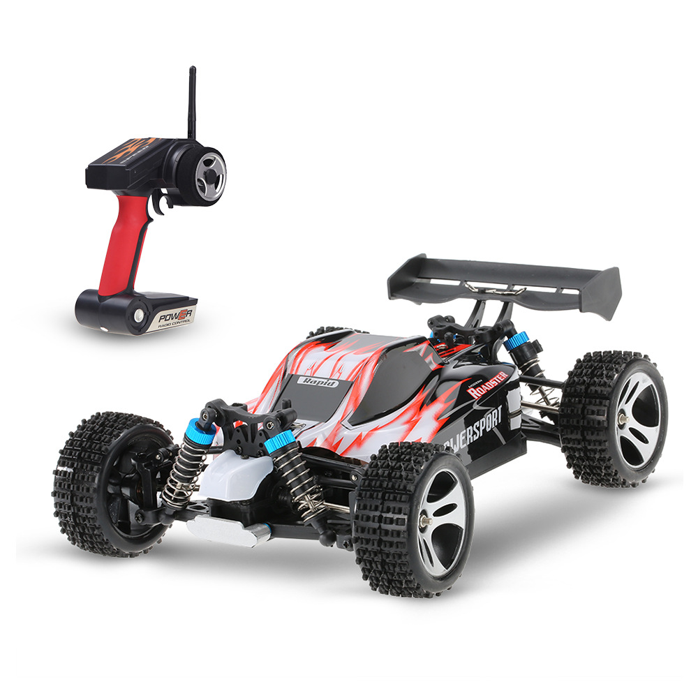 RC Car WLtoys A959 2.4G 1/18 Scale Remote Control Off-road Racing Car High Speed Stunt SUV Toy Gift For Boy RC Mini Car drop