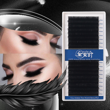 16 ROWS Eyelash Extension 0.03-0.25 Thickness Individual Faux Mink Eyelashes Korea Silk Volume Premium