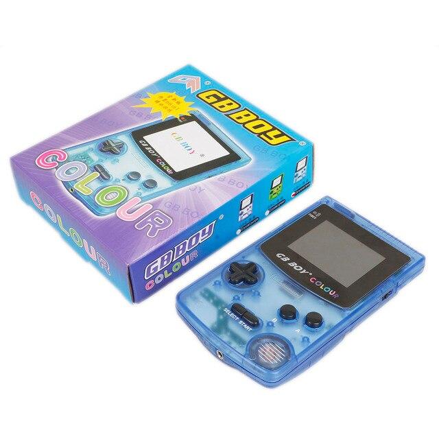 ギガバイト少年カラー色ハンドヘルドゲームプレーヤー 2.7 ポータブル古典的なゲームコンソールコンソールとバックライト 66 内蔵ゲームテトリス