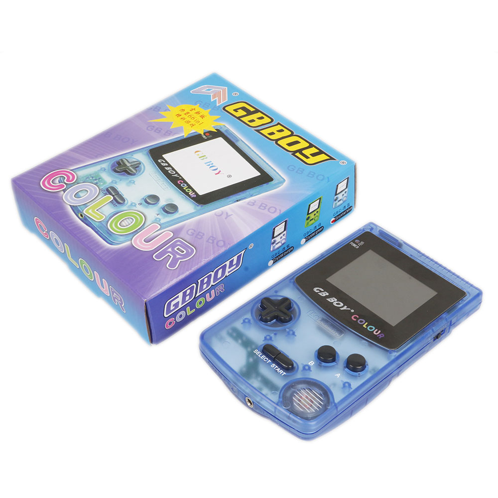 GB Boy Colour Color Handheld Game Player 2.7 Portable Classic Game Console Consoles With Backlit 66 Built-in Games tetris image