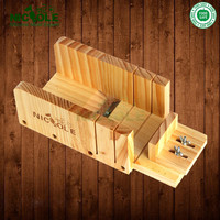 Free Shipping Hot Sale Nicole Adjustable Wooden Soap Mold Loaf Cutter Rack For DIY Handmade Loaf