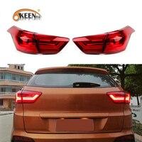 OKEEN Car Styling for Hyundai Creta IX25 2013 2018 Tail Light Assembly Red Brake Turn Signal Lights for Hyundai IX25 Tail Lights