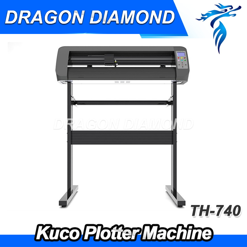 Kuco Vinyl Sticker Plotter Cutter Machine Sticker Vinyl Cutter Silhouette Cameo Cutter TH740 senza supporto di supporto