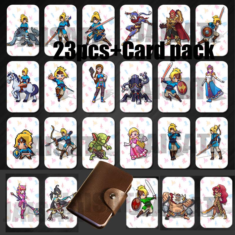 Mario Kart 8 Deluxe Breath for the Wild zelda amiibo The Games card of super smash bros Link Switch NFC card Super Odyssey taza de m&m